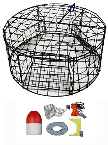 KUFA Vinyl Coated Round Crab Trap & Accessory Kit (100' for sale  Delivered anywhere in Canada