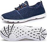 DOUSSPRT Men's Water Shoes Quick Drying Sports Aqua Shoes