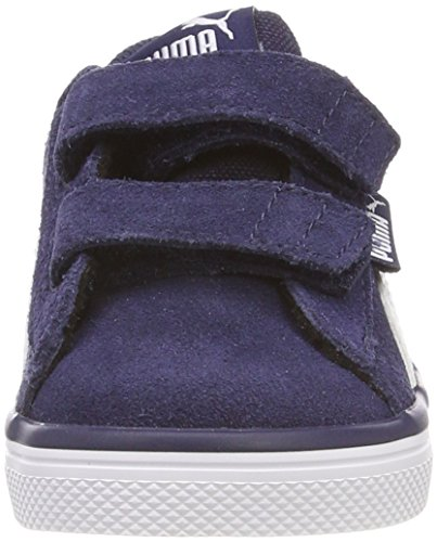 Puma Unisex-Kinder Urban Plus SD V Inf Sneaker Blau (Peacoat-Puma White)