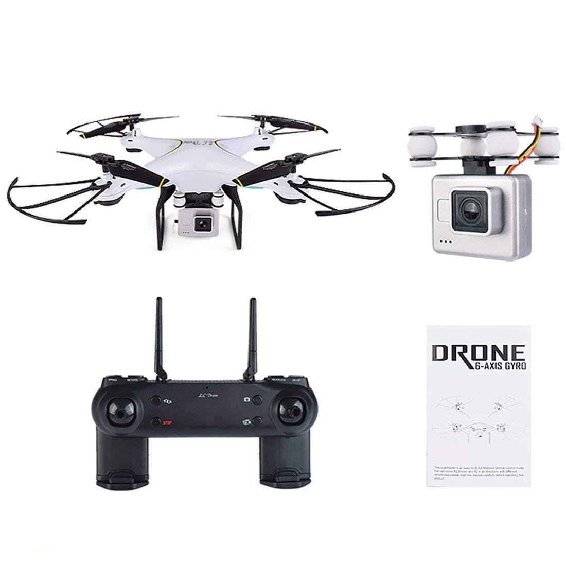 Formulaone SG600 RC Drone con cámara 2MP WiFi FPV Quadcopter Auto Return Altitude - Blanco