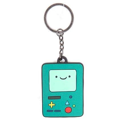 Adventure Time KE210107ADV BMO Beemo Rubber Keychain (Green)