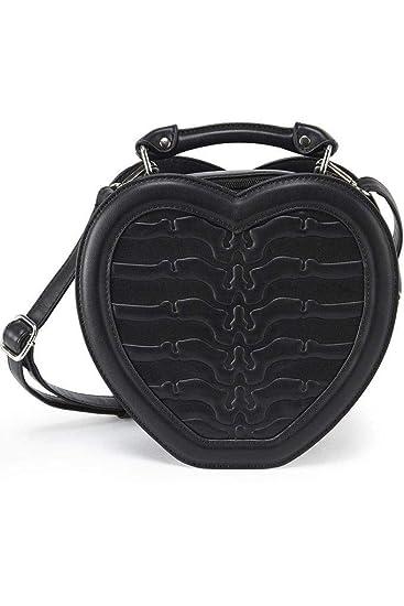 Amazon.com: Killstar - Bolso de mano, diseño de corazón ...