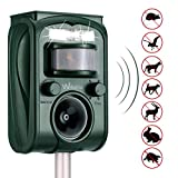 Best Animal Repellers - Wikomo Ultrasonic Animal Repeller, Solar Powered Waterproof Outdoor Review