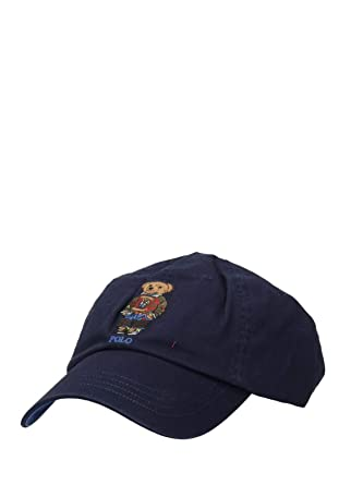 Polo Ralph Lauren Bear Embroidery Baseball Cap Newport Navy-Gorras ...
