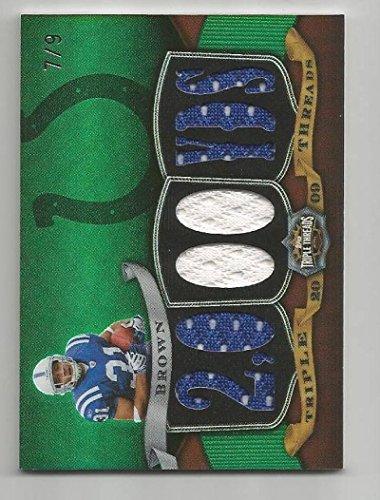 - Football NFL 2009 Topps Triple Threads #TTR-15 Donald Brown #TTR-15 NM MEM 7/9