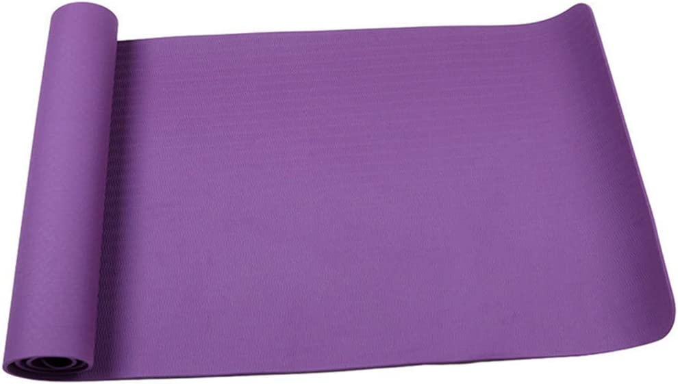 Pilates Gym LHHA Extra Thicken Exercise Mat Meditation Extra Long Cushion for Yoga Non-Slip Durable Workout Mat