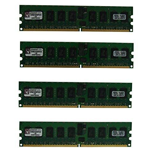 Kingston KVR667D2D8P5/2G PC-5300 DDR2 667 MHz DIMM 8 GB (4 x 2GB) 240 Pin ECC Memory Server ()