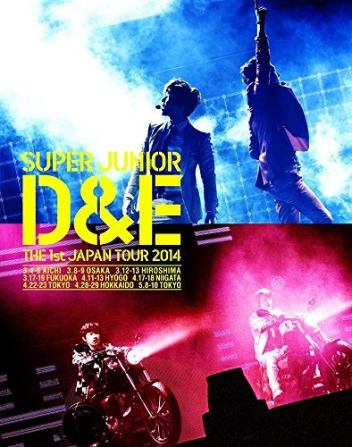 SUPER JUNIOR D&E THE 1st JAPAN TOUR 2014 [BLU-RAY] (First Press Limited Edition)(Japan Version)[+ D&E photocard][+ super junior postcard(10cmx15cm)][+ super junior collection card][+ super junior sticker]