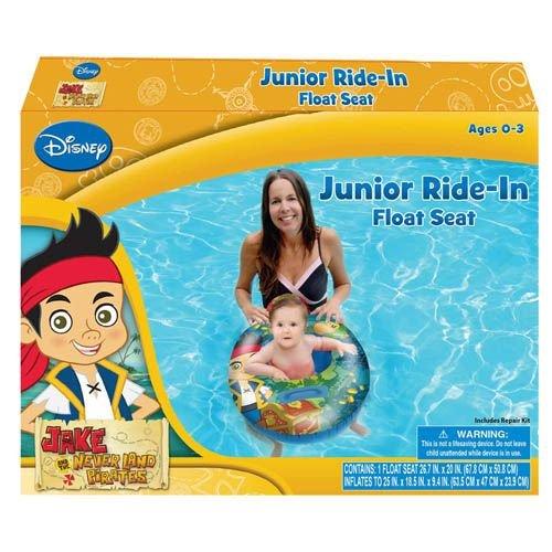 Green Hunter Ring 15 - Jake and the Neverland Pirates Baby Toddler Ride-on Float Seat - Swim Raft, Ring, Pool, Beach