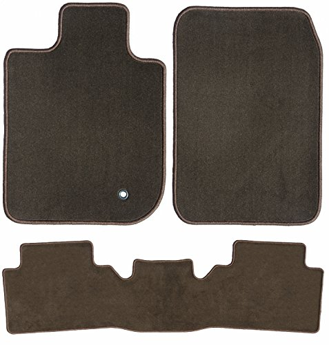 GG Bailey D60041-S2B-CH-BR Two Row Set Custom Car Mat, Chocolate Brown (For Select Chrysler Pacifica Models (Standard))