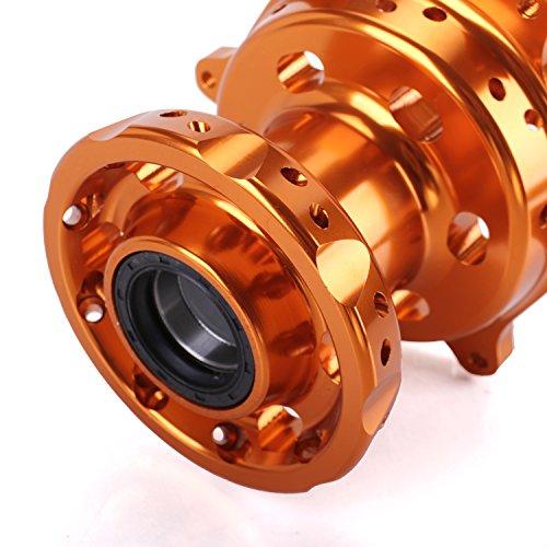ANUESN Front & Rear Wheel Rim Hubs KTM SX SXF XC 125 250 300 350 450 520 525 530 by ANUESN (Image #6)