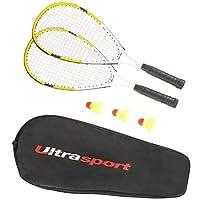 Ultrasport Speedbadminton Set, Gelb, 331400000137