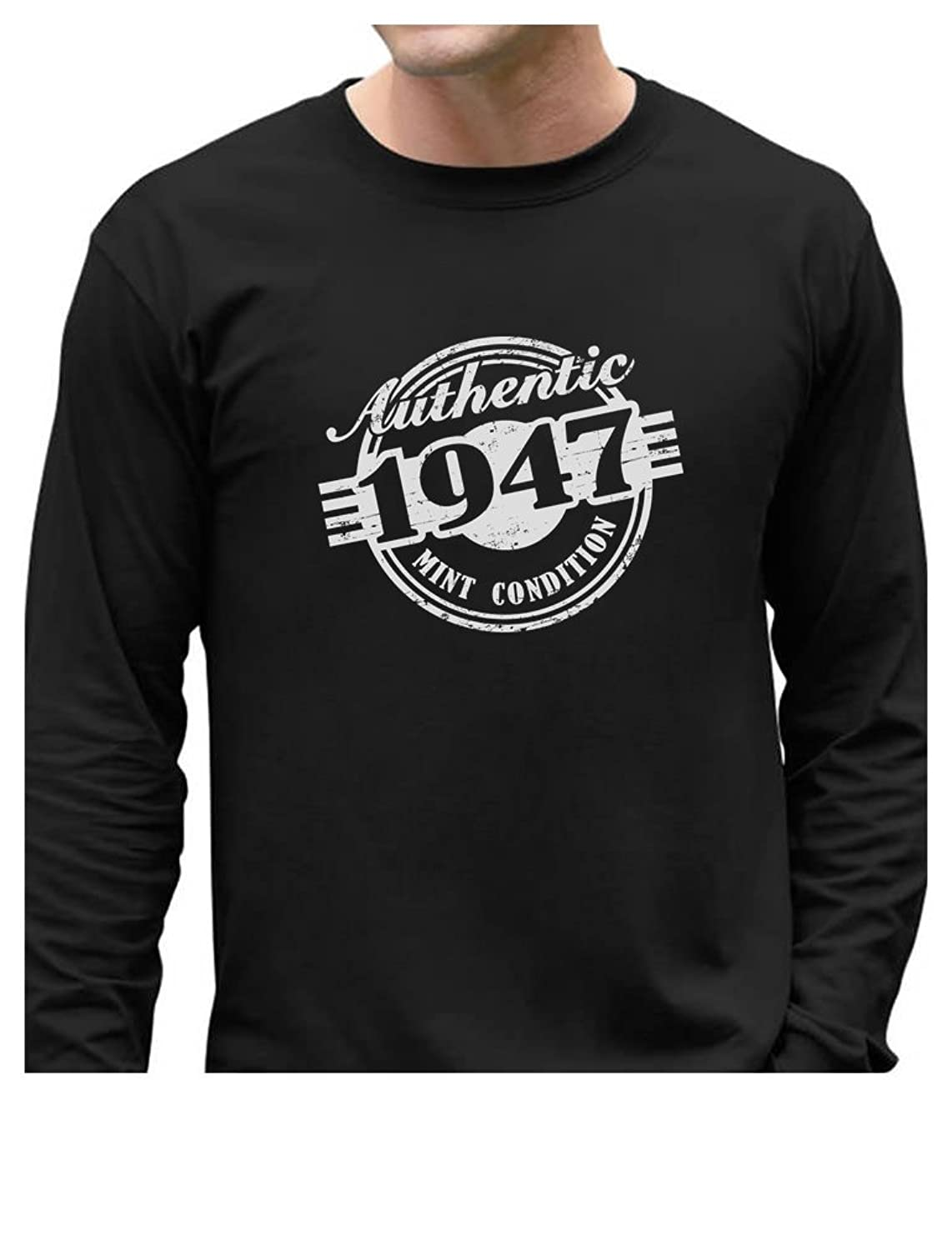 70th Birthday Gift - Authentic 1947 Mint Condition Long Sleeve T-Shirt