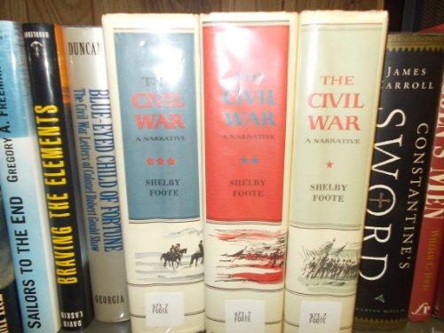 THE CIVIL WAR : A NARRATIVE (3 volumes)