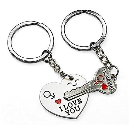 Amazon.com: etopstech clave para mi corazón lindo Pareja ...