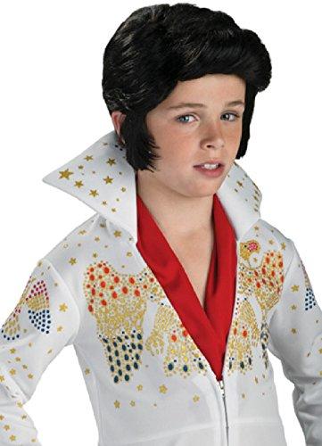 Elvis Wig for Children · Toddler Rock King Jumpsuit Costume · Elvis Childu0027s ...  sc 1 st  Best Costumes for Halloween & Infant Elvis Halloween Costume