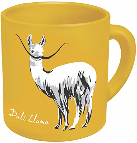 Dali Llama Coffee Mug - Start Your Day with Some Inner Peace and Inner Weird - Comes in a Fun Gift Box