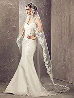 Aukmla Wedding Bridal Veils Beautiful Lo...