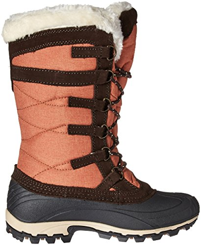 Kamik Kvinnor Snowvalley Snö Boot Orange / Brun