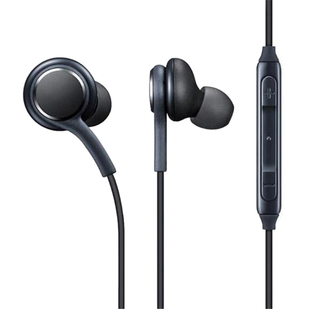 Rocketed Headphones/Earphones/Earbuds, 3.5mm Aux Wired in-Ear Headphones with Mic and Remote Control Compatible for Samsung Galaxy AKG S9 S8 S7 S6 S5 Edge + Note 5 6 7 8 9 and More Android