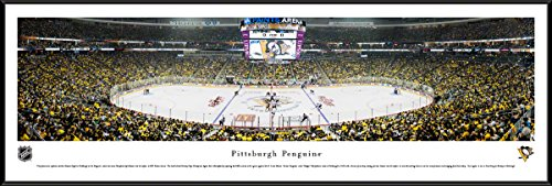 Pittsburgh Penguins Framed Photos - Pittsburgh Penguins - 40.25x13.75-inch Standard Framed Picture by Blakeway Panoramas