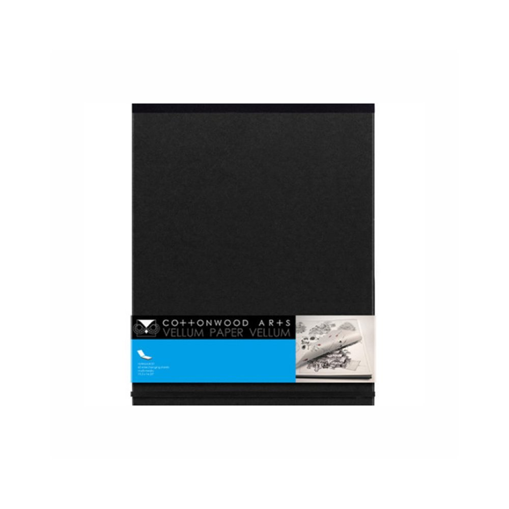 Cottonwood Vellum Sketchbook 11X15 by Cottonwood Arts