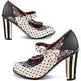 Hot Chocolate Design Chocolaticas High Heels Doris Women's Mary Jane Pump