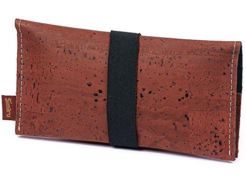 Borsello Portatabacco Floreale Rosso Stabile In Porta disegno Simaru Estremamente Busta Tabacco Sughero gfdqgxO7