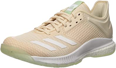 adidas Women's Crazyflight X 3 Volleyball Shoe LinenWhite