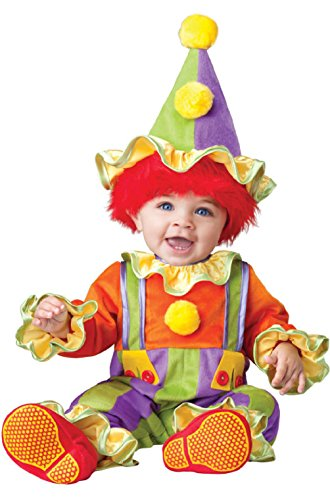 Cuddly Clown Costumes (Cuddly Clown Infant/Toddler Costume)