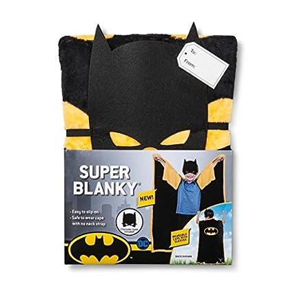 1df464204c Amazon.com  DC Comics Batman Super Blanky Bed Blankets (46x60)  Home ...