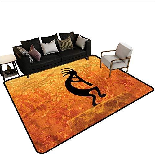 Kokopelli,Designed Kitchen Bathroom Floor Mat 24