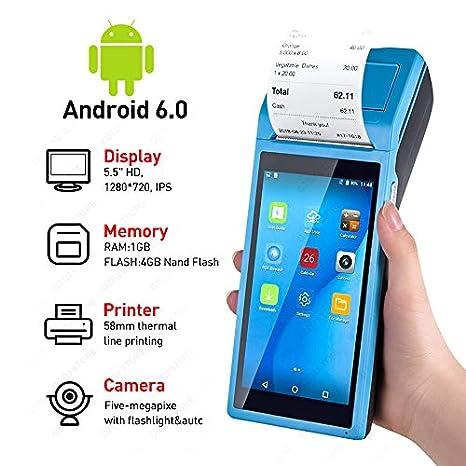 TQ PDA POS Terminal portátil Pos Dispositivo Construido en el ...