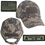 Gadsden and Culpeper Operator Cap Bundle - w USA/Dont Tread Patches