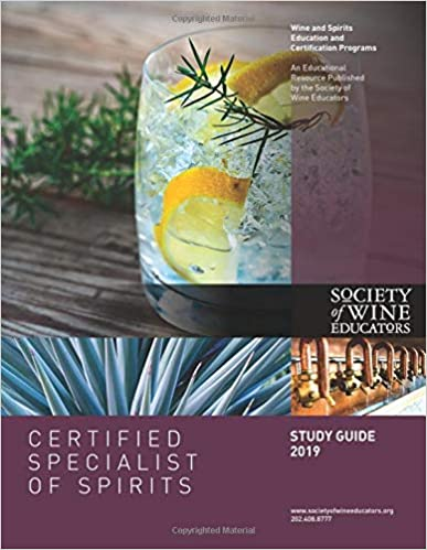 2019 Certified Specialist of Spirits Study Guide