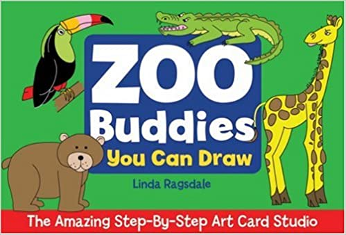 The Amazing Step By Step Art Card Studio Zoo Buddies You Can Draw