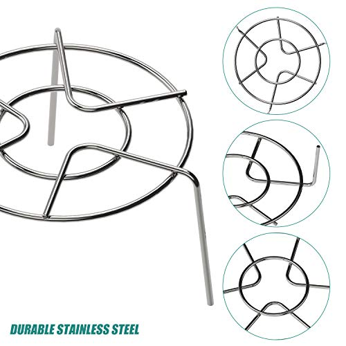 3 PCS Stainless Steel Trivet Rack Stand, 2.36