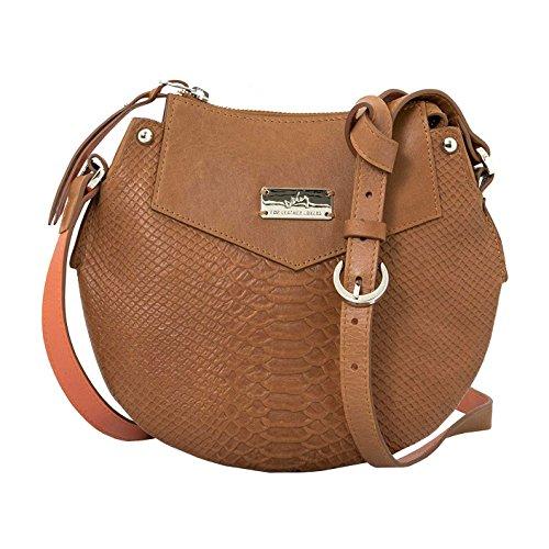 Honey Crossbody Women Saddlebags Leather 1020026 Carteras Velez Genuine Handbag Cuero de Izq7BBRw