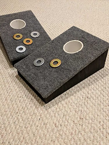 Hole Slant Washer Pitching / Horseshoes Game (Slant Box Top)