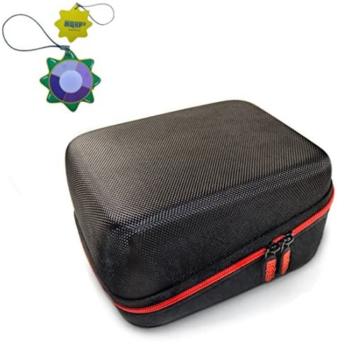 HQRP Hard Case for iProven BPM-2244BT Automatic Upper Arm Blood Pressure Monitor Plus HQRP UV Meter