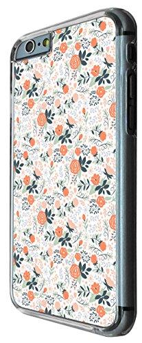 638 - Floral Shabby Chic Mini Roses Design iphone 6 6S 4.7'' Coque Fashion Trend Case Coque Protection Cover plastique et métal