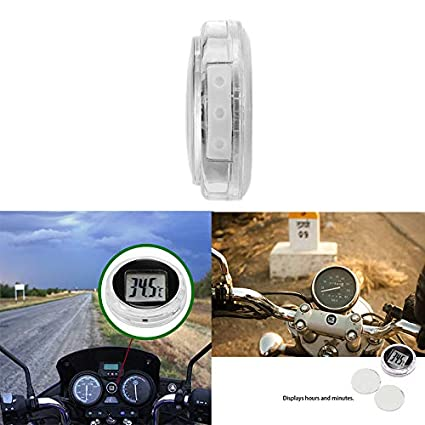 Digital Waterproof Stick On Motorcycle Thermometer 2 AOZBZ Motorcycle Thermometer Kitchen Digital Thermometer Only Support Celsius