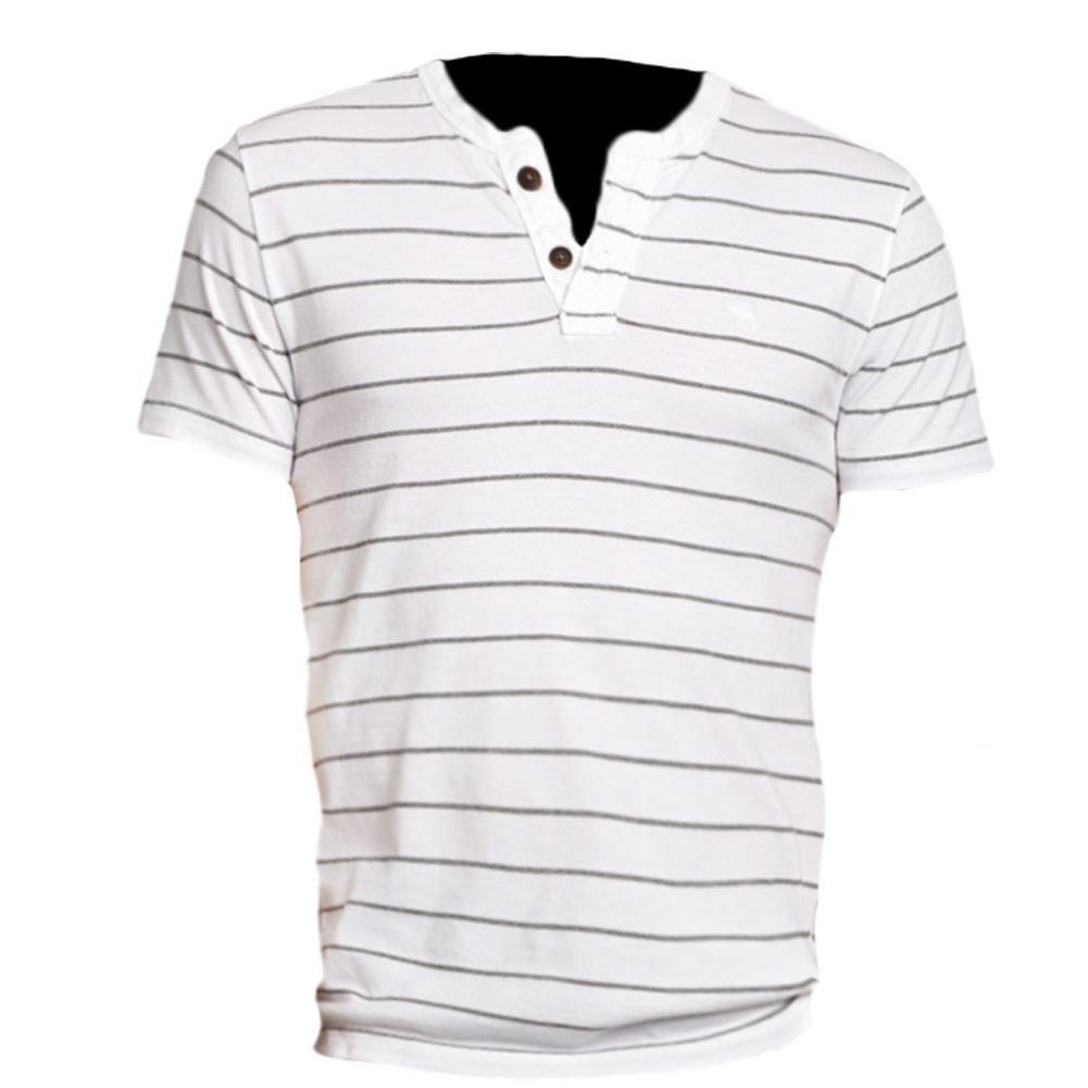 Abercrombie Hombre Sentinel Range Slim Fit Henley Camiseta de té ...