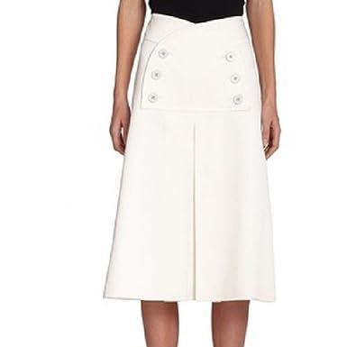 e7dd8d115 Amazon.com: Derek Lam High-Rise Sailor Skirt Size 38: Clothing