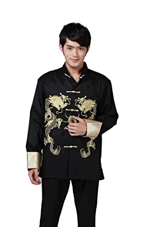 3458b993cd08b Jtc Tai Chi Top Royal Kung Fu Jacket for Men Chinese Shirt Clothing (US XS