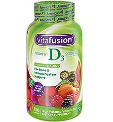 Vitafusion Vitamin D3 Gummy Vitamins, 15...