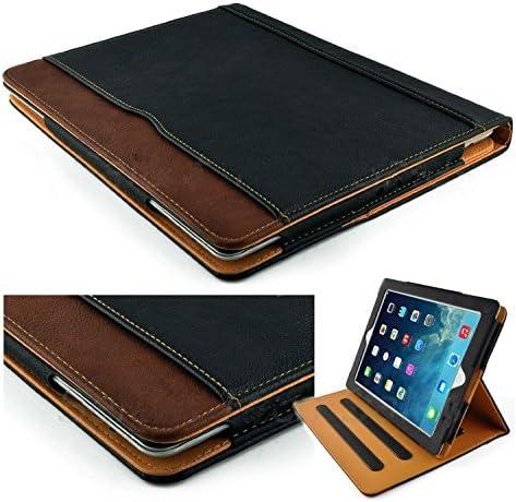 S Tech Black Leather Wallet Feature