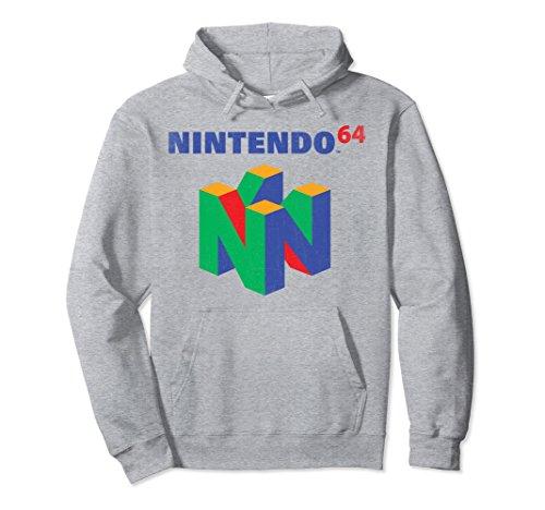 Unisex Nintendo 64 Classic Logo Retro Vintage Graphic