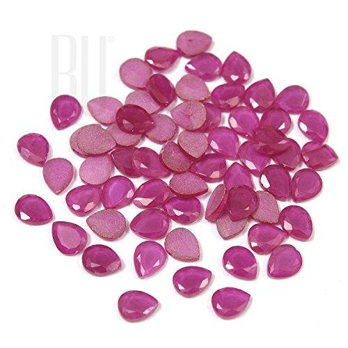 Be You Rouge Corindon Imitation AA Qualité 6x8 mm Diamant Coupe Poire Forme 500 pcs gemme