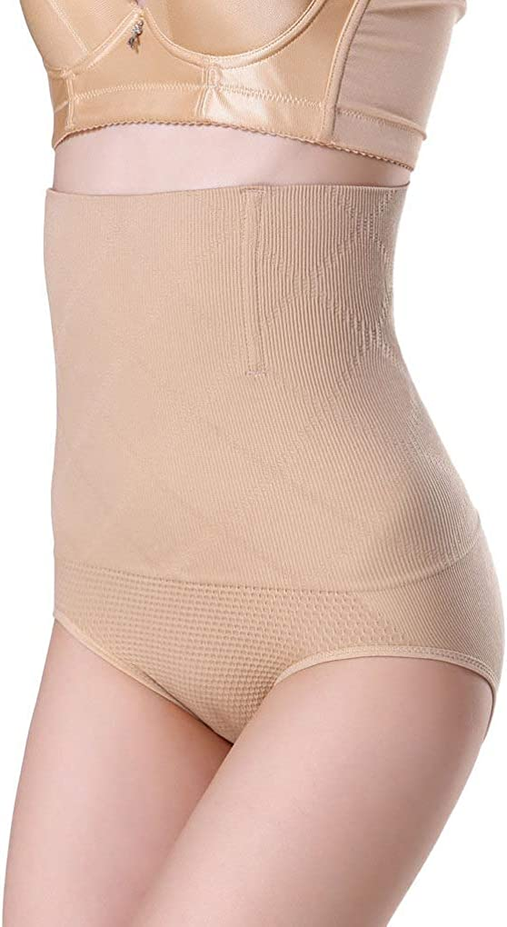 Kievil Women High Waist Shaping Shapers Panties Breathable Body Slimming Tummy Underwear Trainer Underpant Knickers D21